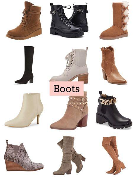 Boots   #LTKshoecrush #LTKunder100 #LTKSeasonal