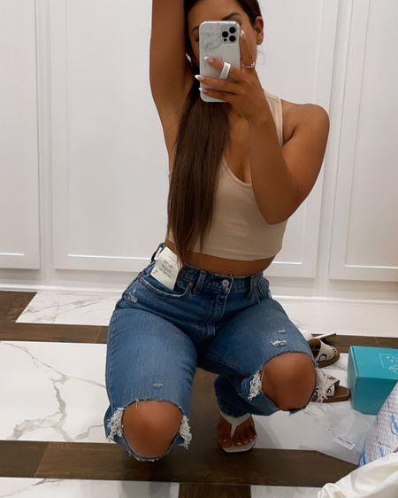 Best jeans ever http://liketk.it/3hQbc #liketkit @liketoknow.it #LTKsalealert #LTKunder100 #LTKstyletip  Abercrombie jeans Denim jeans Curve love jeans Straight leg jeans   #LTKITBAG #LTKFAMILY #LTKFIT #LTKCURVES #LTKHOME  GUCCI BAG PRADA BAG DIOR BAG SADDLE BAG DH GATE FINDS   #LTKwedding #LTKunder50 #LTKsalealert  #LTKwedding #LTKshoecrush #LTKfit
