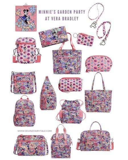 Minnie's Garden Party pattern was just released at Vera Bradley and its is too cute! #liketkit #LTKSeasonal #LTKitbag @liketoknow.it http://liketk.it/3ajfK