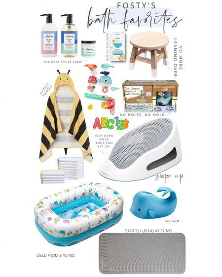 http://liketk.it/3jav2 #liketkit @liketoknow.it #LTKbaby #LTKkids #LTKfamily baby bath time favorites
