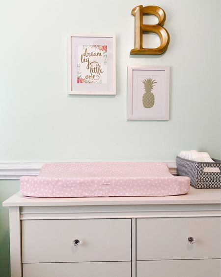 Finally making progress in the nursery ✨ We've used the same furnishings and bedding for all three girls, but I still like to change up the wall color and decor for each of them 🎀 I ordered some drapes today - can't wait to share the final reveal soon! 💕 . Do you have a hard time making decor decisions...or is it just me?! Tell me I'm not alone 🤪 . . .  http://liketk.it/2KdPa  @liketoknow.it @liketoknow.it.home   #liketkit #LTKbaby #LTKkids #LTKhome