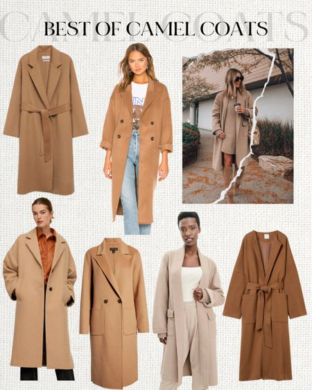 Camel coat favorites   #LTKstyletip #LTKSeasonal #LTKunder100