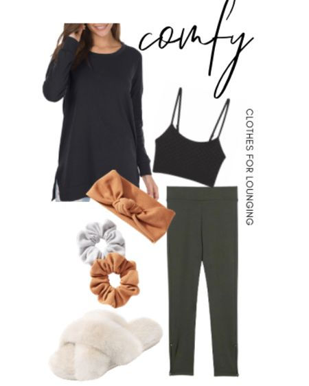 Currently wearing these comfy loungewear pieces. You can instantly shop my looks by following me on the LIKEtoKNOW.it shopping app @liketoknow.it #liketkit #StayHomeWithLTK #LTKunder50 http://liketk.it/34V8r