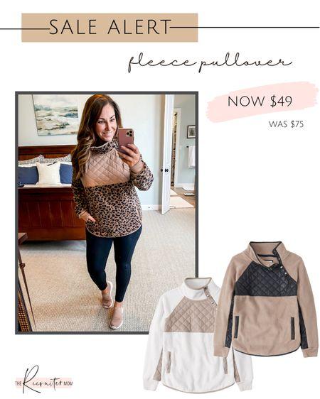 Abercrombie Fleece Pullover $49 (reg $75)   Size up if in-between, L  #LTKsalealert #LTKcurves #LTKunder50