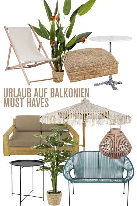 http://liketk.it/2QVvi #liketkit @liketoknow.it Urlaub auf Balkonien, Must Haves Balkon, Balkon Inspiration, Sommer 2020, Balkonien, Dekoideen Balkon
