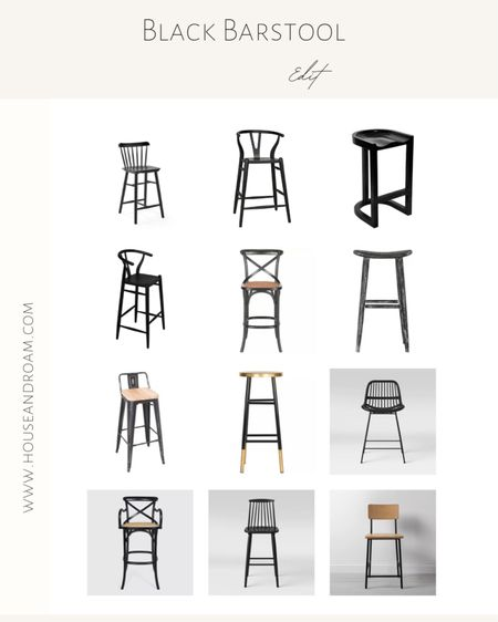 Make a statement in your kitchen area with a fun black barstool. #barstool #blackdiningchair #kitchendecor #studiomcgee http://liketk.it/30dLC #liketkit @liketoknow.it #LTKstyletip #LTKhome #LTKunder100 @liketoknow.it.home @liketoknow.it.family Shop your screenshot of this pic with the LIKEtoKNOW.it shopping app
