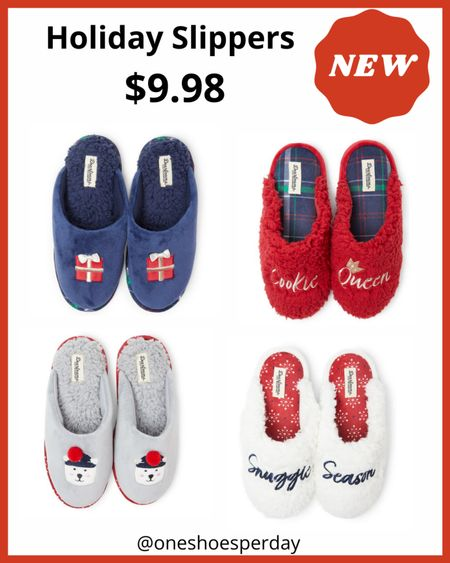 Walmart Finds  Holiday Slippers $9.98 ,tts         http://liketk.it/3q0CU @liketoknow.it #liketkit #LTKGiftGuide #LTKSeasonal #LTKsalealert #LTKunder50 #LTKshoecrush #LTKtravel #LTKFall | Travel Outfits | Teacher Outfits | Casual Business | Blazers | Blazer | Fall Outfits | Fall Fashion | Pumpkins| | Pumpkin | Booties | Boots | Fall Boots | Winter Boots | Bodysuits | Leggings | Halloween | Shackets | Plaid Shirts | Plaid Jackets | Activewear | White Sneakers | Sweater Dress | Fall Dresses | Sweater Vests | Denim | Jeans | Cardigans | Sweaters | Faux Fur Jackets | Faux Leather Pants | Faux Leather Jackets |Coats | Fleece | Jackets | Bags | Handbags | Crossbody Bags | Tote | Wedding Guest Dresses | Gifting | Gift Guide | Gift Ideas | Gift for Her | Mother in Law Gifts | Leather Pants | Winter Outfits | Puffer Jackets | Christmas | Christmas Gifts | Holiday |