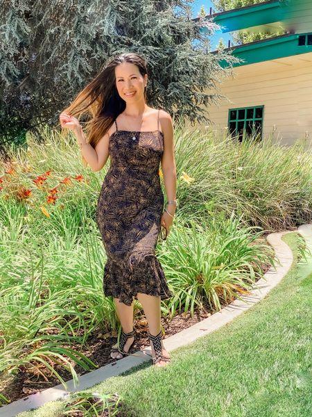 http://liketk.it/3i53g #liketkit @liketoknow.it midi dress, strappy sandals, summer dress, wedding guest dress #LTKunder100 #LTKsalealert #LTKstyletip Shop my daily looks by following me on the LIKEtoKNOW.it shopping app