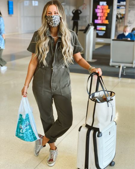 Next stop: MEXICO! // Today's #KERRentlyTraveling #OOTD! I've worn this jumpsuit on 2 recent flights because it's actually incredibly comfortable! I'm wearing a medium. http://liketk.it/3cQOS #liketkit @liketoknow.it #LTKitbag #LTKtravel #LTKstyletip #KERRentlyWearing