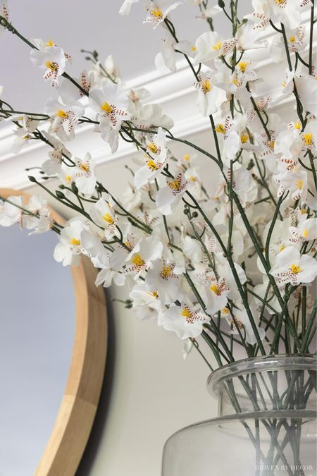Love these artificial flowers - I have them in glass vases on the fireplace mantel in our living room. (home decor ideas)  #LTKunder50 #LTKSeasonal #LTKhome