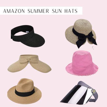 Cute Amazon summer hats to protect your skin http://liketk.it/3i1av #liketkit @liketoknow.it #LTKbeauty #LTKunder50