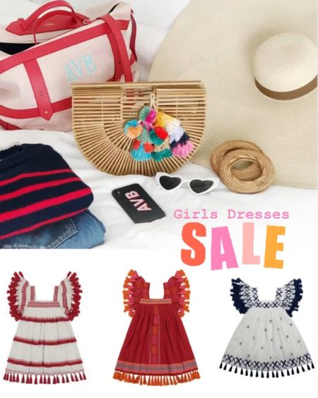 I've been watching these girls Mexican tassel dresses and they finally went on sale! I got some for our trips to Cabo. They will make great party dresses a s coverups.    #LTKfamily #LTKsalealert #LTKkids