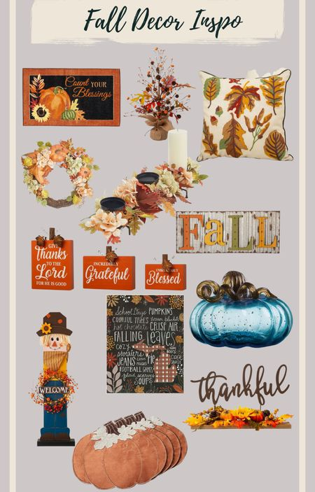Placemats, doormats, pillows and table decor. Everything under $100 #falldecor  #LTKunder100 #LTKstyletip #LTKHoliday