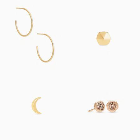 Kendra Scott earrings and necklace http://liketk.it/3gcvN #liketkit @liketoknow.it