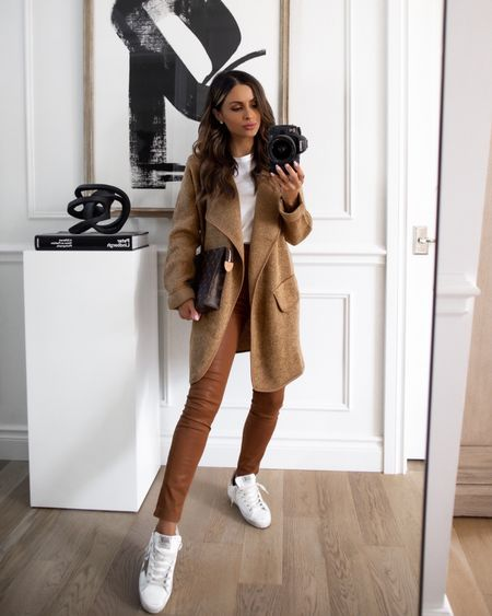 Fall outfit ideas from Goodnight Macaroon camel  Take 40% off with code MARIA40 now Golden goose sneakers on sale with code FW2021  #LTKunder100 #LTKstyletip #LTKsalealert