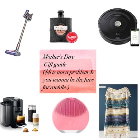 Mother's Day gift guide when you really wanna spoil her or be the favorite child. http://liketk.it/2NQBX #liketkit @liketoknow.it  #mothersday #giftguide #sephora #nespresso #dyson #amazon #target