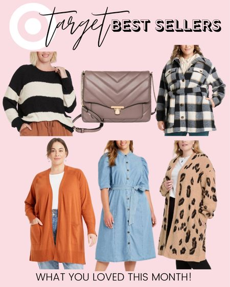 All the plus size fashion favorites you loved from Target style are right here! These were plus size fall fashion best sellers in August and will definitely make lots of cute plus size fall outfits!   #LTKstyletip #LTKunder50 #LTKcurves