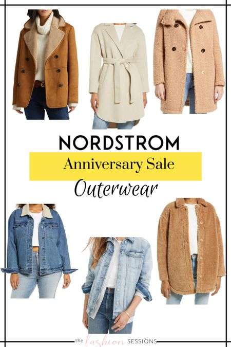 Nordstrom Anniversary Sale Picks!  Outerwear | coats | blazers | denim jacket | wool coat | trench | faux leather | coat shacket    Shop your screenshot of this pic with the LIKEtoKNOW.it shopping app http://liketk.it/3jsvM #liketkit @liketoknow.it #LTKunder100 #LTKunder50 #LTKsalealert