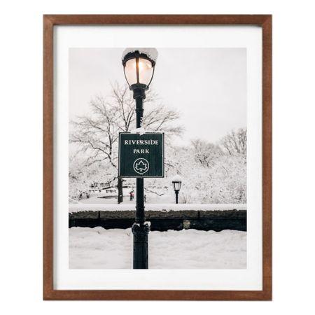 Snowy print of NYC   #LTKHoliday #LTKhome #LTKunder100
