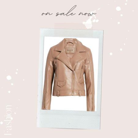 my faux leather jacket is now on sale at Nordstrom 🤎  #LTKsalealert #LTKunder100 #LTKSeasonal