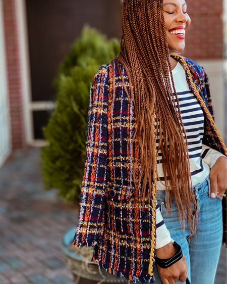 This jacket will be a closet staple for years to come. Dress it up or dress it down! Either way it's guaranteed to bring compliments my friend! http://liketk.it/39vRD #liketkit @liketoknow.it