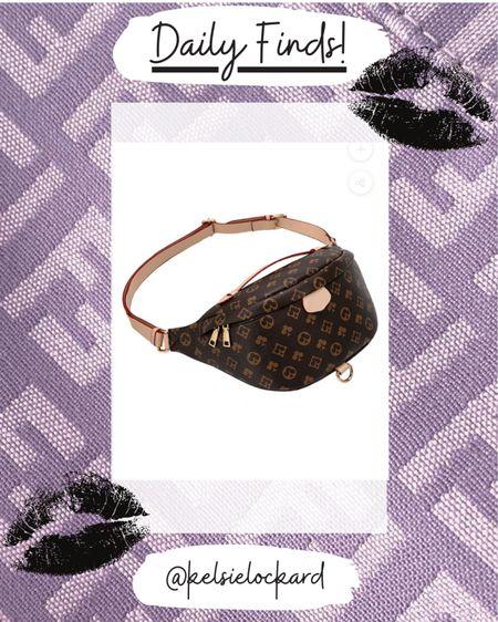 Look for less, designer inspired, affordable luxury, bum bag, Fanny pack  #LTKitbag #LTKsalealert #LTKstyletip