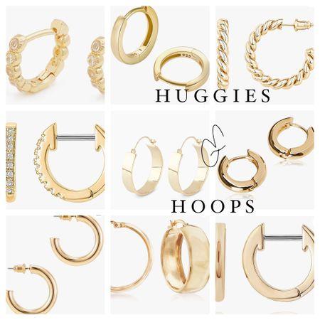 Huggies & Hoops / Earrings / Gold Hoops http://liketk.it/3h2vn #liketkit @liketoknow.it #LTKwedding #LTKunder50 #LTKsalealert Shop my daily looks by following me on the LIKEtoKNOW.it shopping app