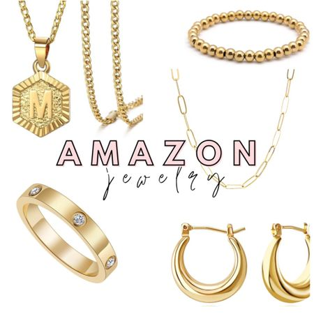 Amazon finds: gold jewelry edition ✨ http://liketk.it/37Vic #liketkit @liketoknow.it #LTKunder100 #LTKhome