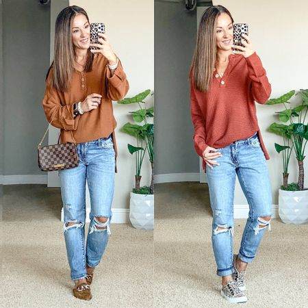 Fall sweaters and boyfriend jeans • last weeks favorites • sweaters size small & jeans 00 -message me for the link and discount code   #LTKunder50 #LTKsalealert #LTKstyletip