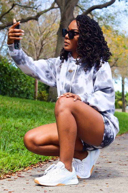 Cozy SZN. #sneakers #tiedye #activewear #amazonfinds  #LTKunder100 #LTKshoecrush #StayHomeWithLTK