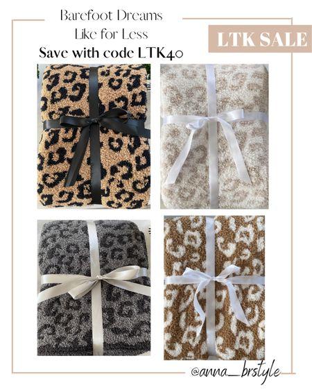 leopard blankets on sale #anna_brstyle  #LTKSale