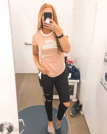 Casual summer outfit from #oldnavy  -  Shop your screenshot of this pic with the LIKEtoKNOW.it app http://liketk.it/2BJlO @liketoknow.it #liketkit #LTKunder50 #LTKstyletip #LTKspring
