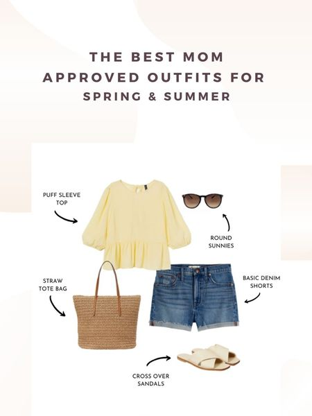 The best mom approved outfits for spring and summer.  How to style shorts for Spring & Summer #summeroutfits #summerlooks http://liketk.it/2OxU2 #liketkit @liketoknow.it