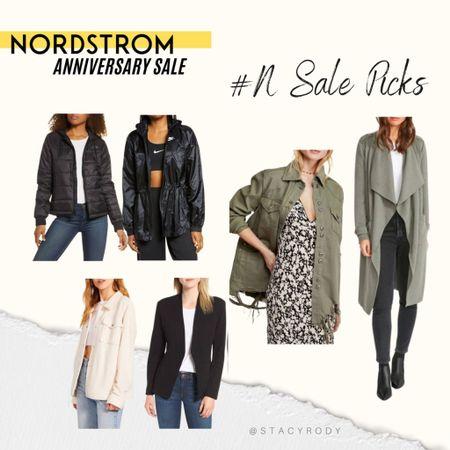 Linking all my favorite jackets from the sale! Size up one in the All Saints leather jacket. NSale Nordstrom sale   #LTKunder50 #LTKsalealert #LTKstyletip