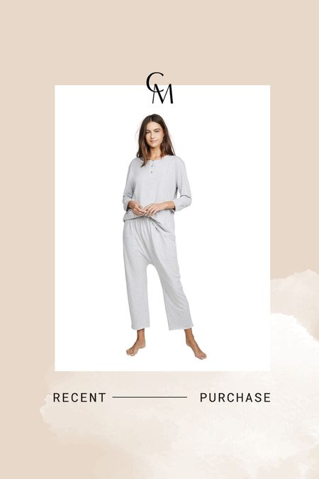 The Great pj set. Snagged this set for postpartum in size 0. The Great runs big    #LTKsalealert