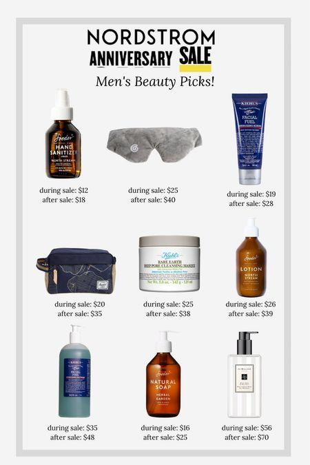 Nordstrom anniversary sale men's grooming and beauty picks!   #LTKbeauty #LTKmens #LTKunder50