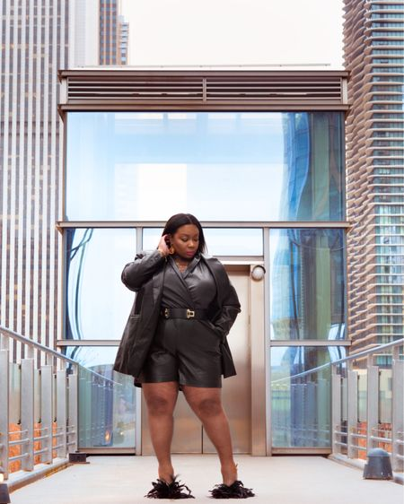 Leather, Feathers, and Thighs my favorite trio!!! http://liketk.it/3bVCS #liketkit @liketoknow.it #LTKworkwear #LTKunder50 #LTKcurves Shop my daily looks by following me on the LIKEtoKNOW.it shopping app