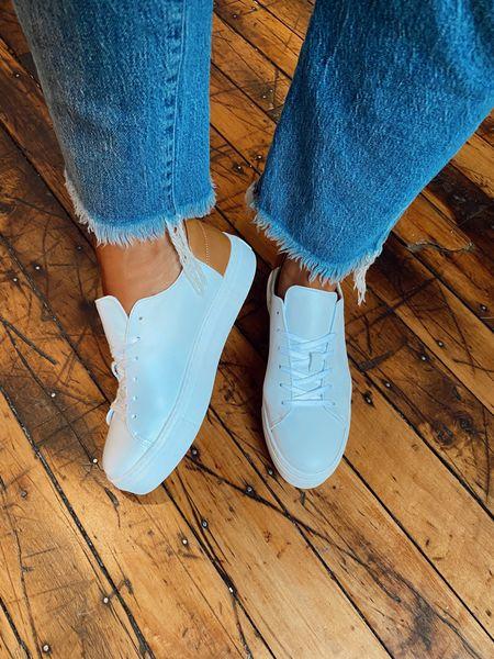 Little white sneakers 👟 use CARALYN25   #LTKstyletip #LTKshoecrush