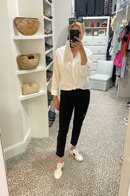 Casual everyday look! Wearing a size 0 blouse and 0.5 pants     #LTKworkwear #LTKstyletip