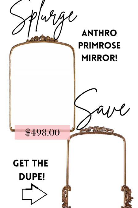 Get the Anthro Primrose Mirror OR the dupe from Kirklands for $130!!! #LTKsalealert #LTKhome #LTKstyletip #liketkit @liketoknow.it.home @liketoknow.it Follow me on the LIKEtoKNOW.it shopping app to get the product details for this look and others Screenshot this pic to get shoppable product details with the LIKEtoKNOW.it shopping app http://liketk.it/3h0Tn