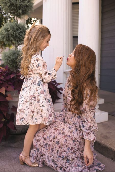mommy and me fall dresses   #LTKfamily #LTKkids