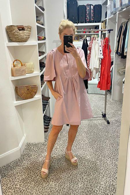Love this dress for summer! Wearing a size S.     #LTKshoecrush #LTKSeasonal #LTKstyletip