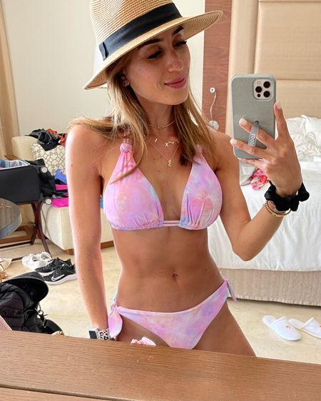 Tie dye bikini size c top size Xs bottoms http://liketk.it/3hrOP #liketkit @liketoknow.it #LTKunder100 #LTKunder50 #LTKswim