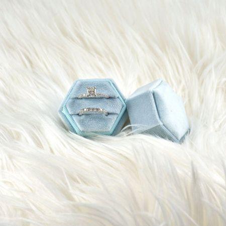 Light blue ring box by LironTresor shop on Etsy.   http://liketk.it/3jrzt @liketoknow.it #liketkit #LTKstyletip #LTKwedding #LTKhome