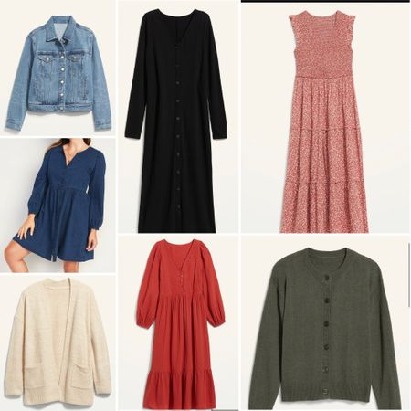 These dresses and layers are perfect to take you straight from the last days of summer straight through fall.  #LTKcurves #LTKSeasonal #LTKunder50