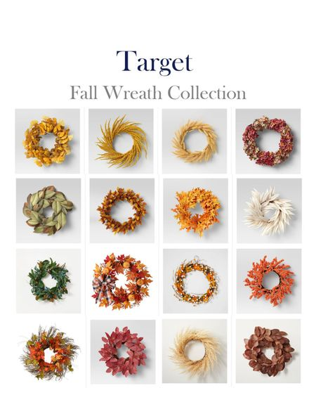 Target Fall Wreath Collection