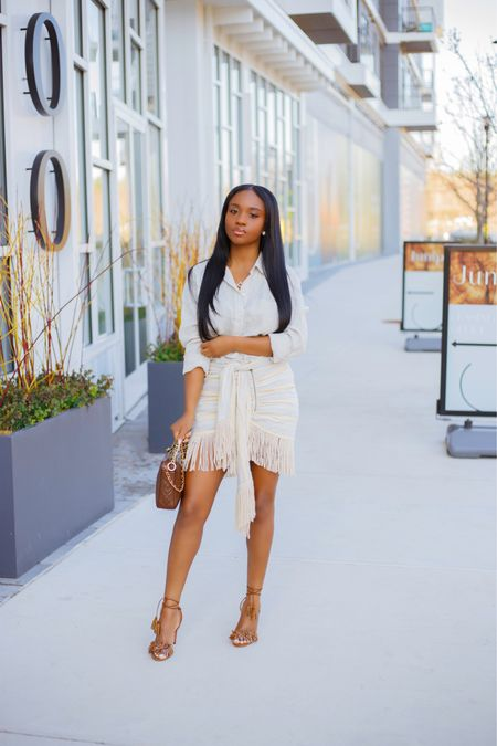 Made it through the first half of year 😮💨 I can't believe its already July. Happy new Month y'all  . .  #liketkit #ootd http://liketk.it/3iMN1 #fringe #blogger @liketoknow.it #dmvblogger #neutrals
