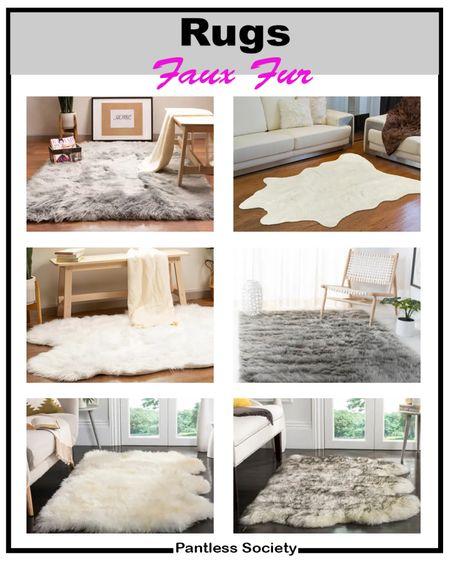 Shag rug. Faux fur rug. Living room. Bedroom. Master bedroom. Entry way. Home decor. Fall decor. Home refresh.   #LTKhome #LTKfamily #LTKstyletip