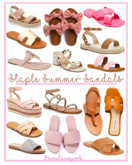 Staple summer sandals http://liketk.it/3fWA9 #liketkit @liketoknow.it #LTKshoecrush #LTKunder100 #LTKstyletip