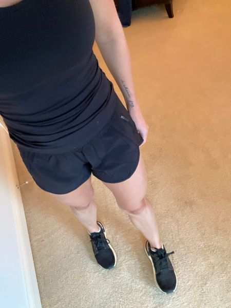 Hard to tell but these shorts have the cutest side detail! Incredibly comfortable also.   http://liketk.it/2Wc6F   Shop my daily looks by following me on the LIKEtoKNOW.it shopping app #liketkit @liketoknow.it #LTKfit #LTKunder100 #LTKstyletip